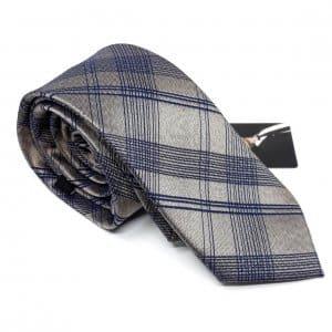 Dodatki Elegancki Krawat Alties Srebrny