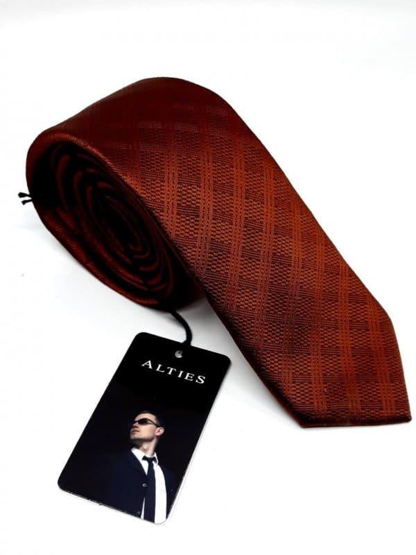 Dodatki Krawat Alties Miedziany