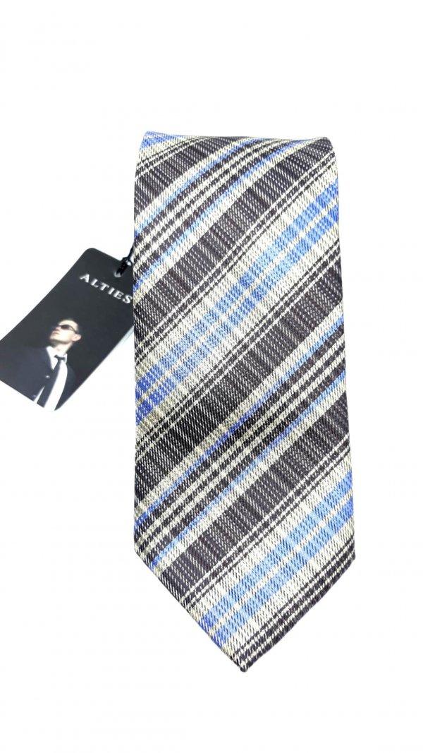 Dodatki Elegancki Krawat Alties Paski