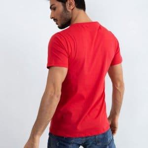 T-shirty T-shirt Bawełniany Czerwony Know
