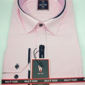 Koszula Męska Wild Tiger Mocno Różowa st