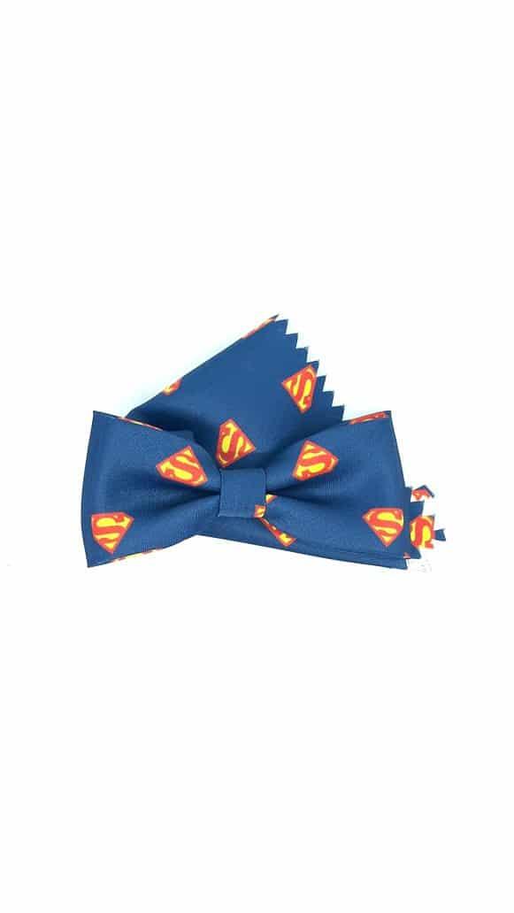Dziecięce Mucha Dziecięca Superman