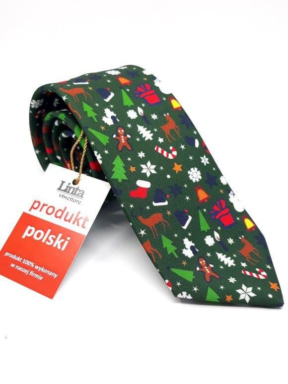 Krawaty Krawat Choinki