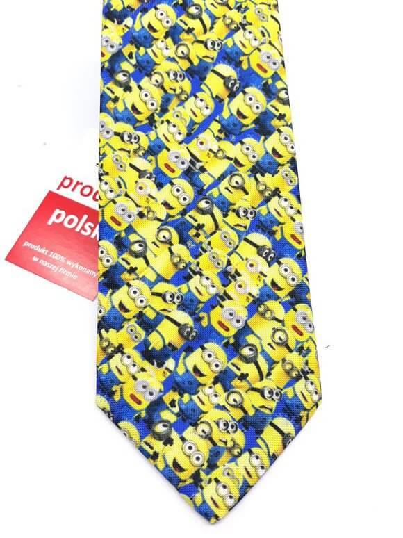 Krawaty Krawat Minionki