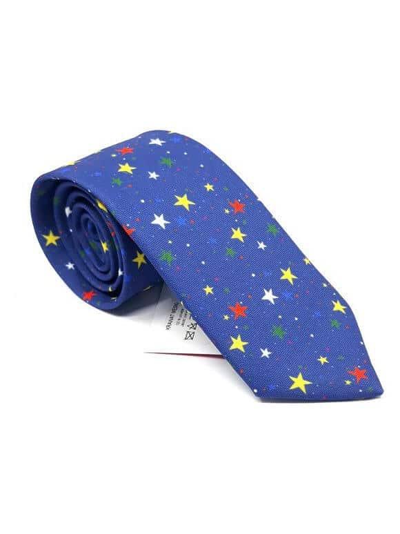 Krawaty Krawat Gwiazdki