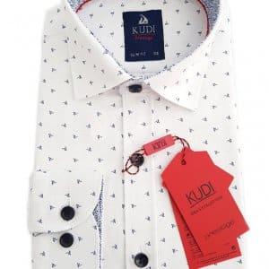 Koszule dzięcięce Koszula dziecięca Biała Granat