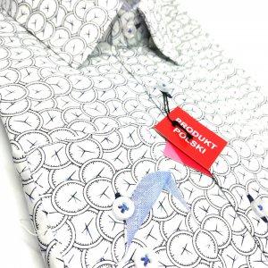 Koszule długi rękaw Koszula Wiliński Zegary