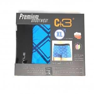 Bokserki Bokserki C+3 Niebieskie Romby