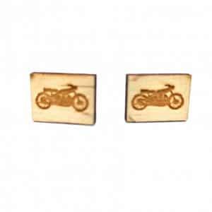 Spinki Spinki do mankietów Drewniane Motory