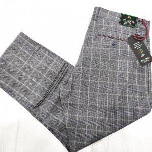 Spodnie Spodnie Diconti Krata Szara