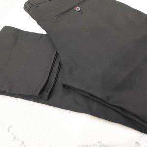 Spodnie Spodnie Czarne Gładkie