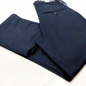 Spodnie Spodnie Granatowe Gładkie