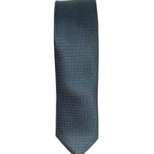 Krawaty Elegancki Krawat Ciemny Popiel