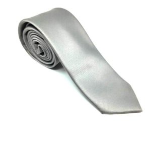 Krawaty Elegancki Krawat Szary