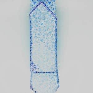 Krawaty Krawat Ślubny z Poszetką Jasno niebieski