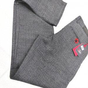 Spodnie Spodnie Szara Kratka