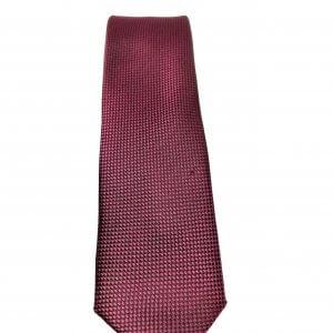 Krawaty Elegancki Krawat Fioletowy Kropki