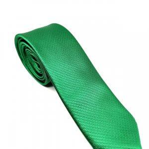 Krawaty Elegancki Krawat Zielony Wzorek