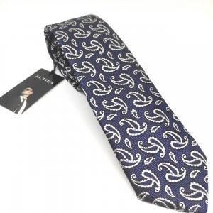 Krawaty Elegancki Krawat Białe Łezki