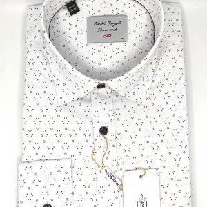 Koszule długi rękaw Koszula Kudi Royal Kreski