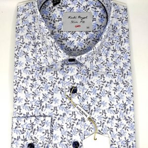 Koszule długi rękaw Koszula Kudi Royal Listki