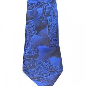 Krawaty Elegancki Krawat Czarno Granatowy