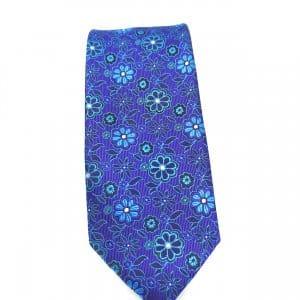 Krawaty Elegancki Krawat Kwiatki
