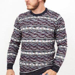 Swetry Sweter Skandynawski